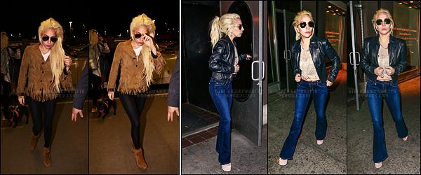 23/11/16 - Dans la nuit, Lady Gaga a été repérée sortant d'un studio d'enregistrement dans New York.  Dans la journée du 22/11, elle avait déjà été vue sortant d'un studio à NY. Le 21/11, elle avait été vue à LAX pour rentrer à New York.