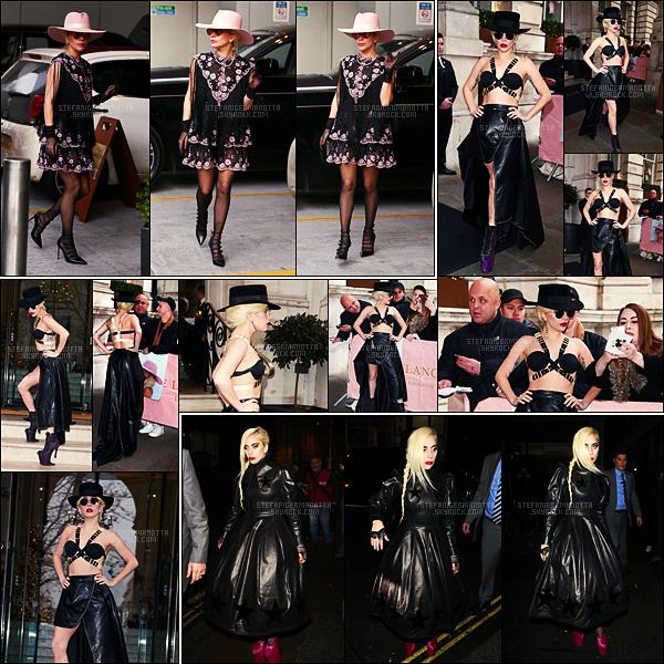 05/12/16 -  Lady Gaga s'est vue être surprise alors qu'elle se rendait dans un magasin de Londres, UK.  Le 06/12, Lady Gaga a été vue sortant de son hôtel de Londres. Dans la même soirée, elle a été repérée sortant d'une boite de nuit ...