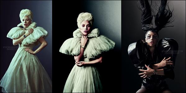 ------------------------------------------------- » Lady Gaga pour la campagne publicitaire de Tudor.