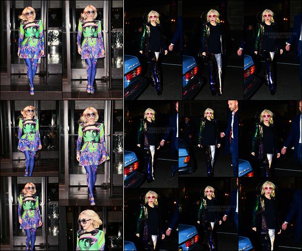 29/01/18 -  La belle chanteuse Lady Gaga a été aperçue entrain de quitter son hôtel situé à New York City. Plus tard dans la soirée, elle a été vue alors qu'elle quittait le Madison Square Garden, salle emblématique de New York. top ou flop ?