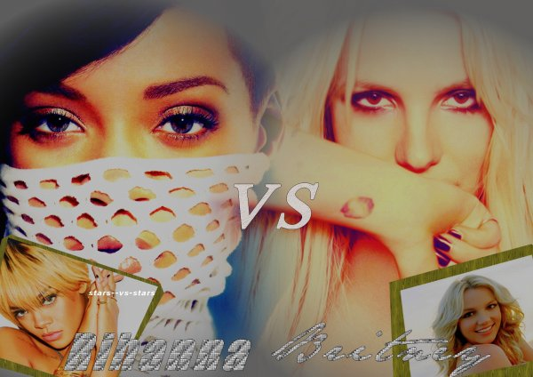 Riahnna VS Britney Spears