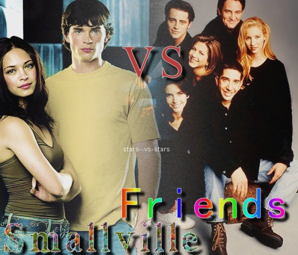 50 commentaires / smallville VS friends