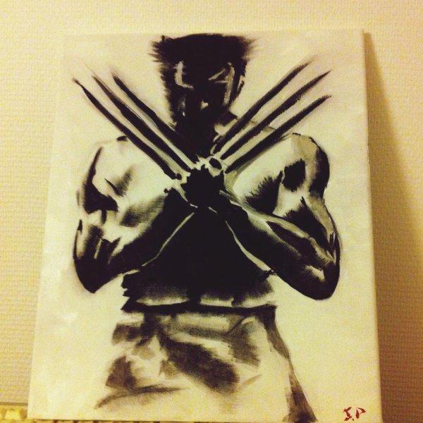 Wolverine Ombre/Lumière Acrylique