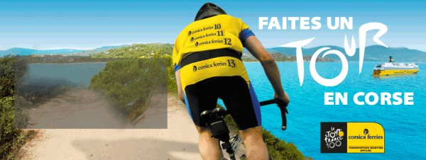 Tour de France 2013 avec Corsica ferries