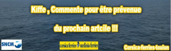 ~ Corsica Ferries ~