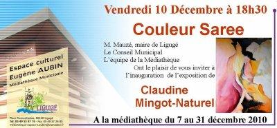 EXPOSITION MEDIATHEQUE DE LIGUGE 86 du 7 au 31 décembre 2010