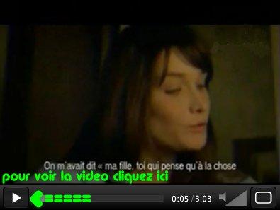 Carla Bruni - Quelqu'un m'a dit  que Sarkozy et est un petit vicieu