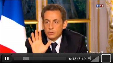 HUMOUR Le vrai visage de Nicolas Sarkozy 2012, juste hilarant !