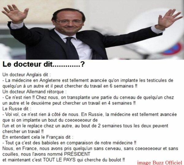 Le docteur dit.......?