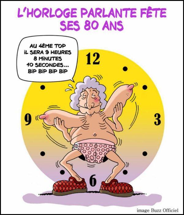 L'horloge parlante fête ses 80 ans
