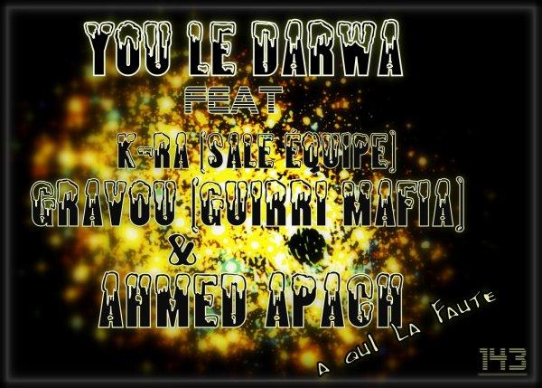 YOU LE DARWA - A Qui La Faute | FEAT | GUIRRI MAFIA , K-RA SALE EQUIPE  (2014)