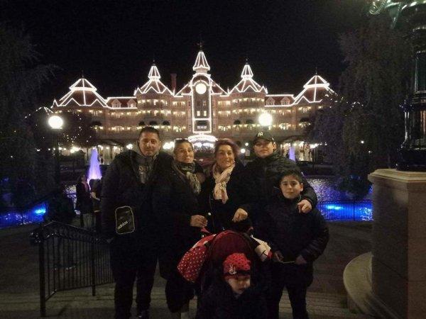 avec ma fille mon gendre et leurs enfants