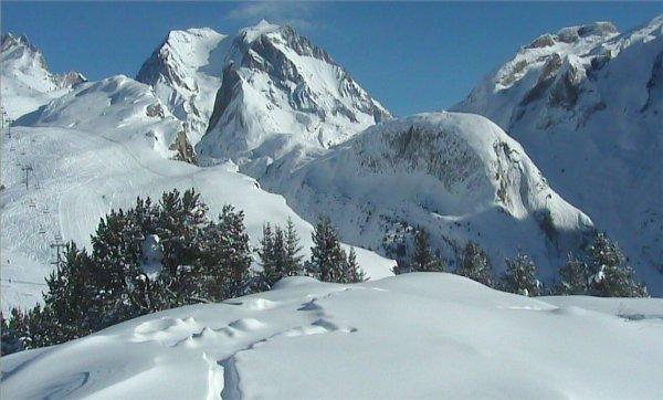 Image de début 2012 sur le Mont Bochor près de Pralognan