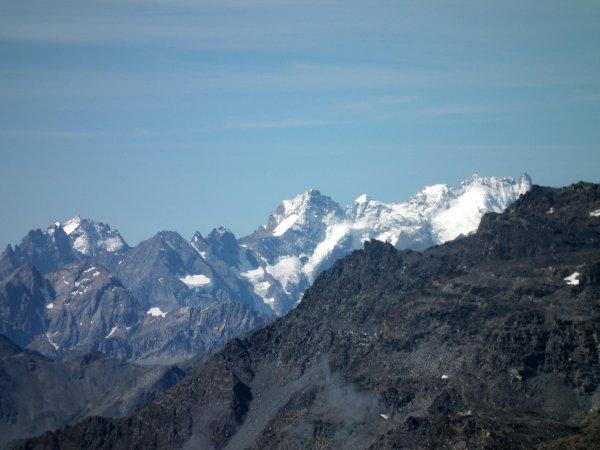 Panorama du sommet de la pointe de l'observatoire