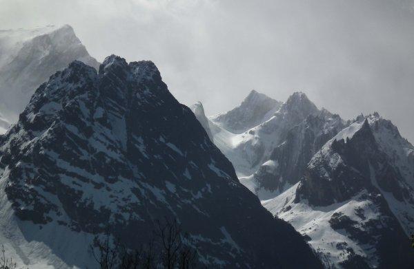 Ambiance d'altitude au Grand Bec à 3399m (essais de rendus après correction de tons et lumière)
