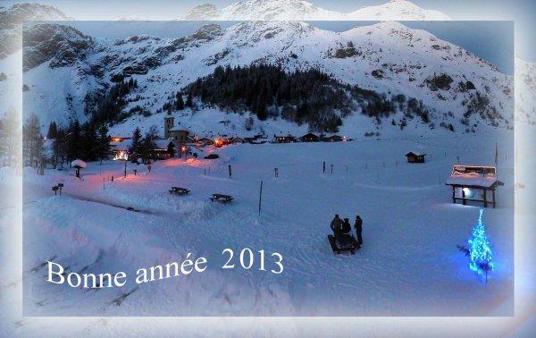 Champagny le haut , le Mercredi 2 janvier 2013