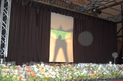 1er  photo du concert du 9 mars 2011 pour la journée de la femme a libercourt