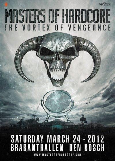 Masters of hardcore The Vortex Of Vengeance / 24.03.2012 / Brabant Hallen / Holland