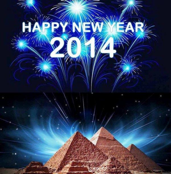 bonne année 2014 soyer heureux
