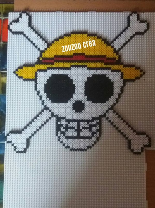 Crâne de Luffy