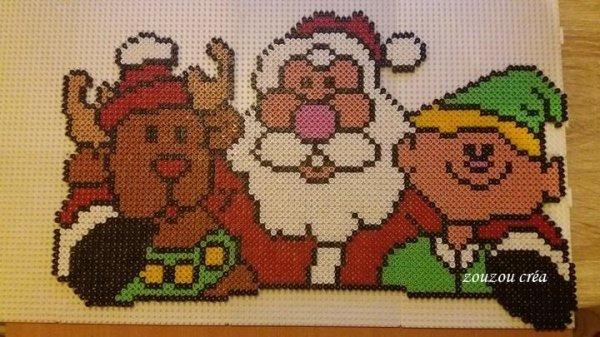 Père Noël et c'est amis