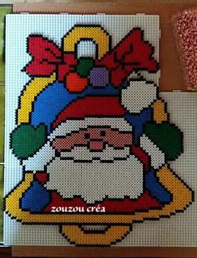 Père Noël en Cloche