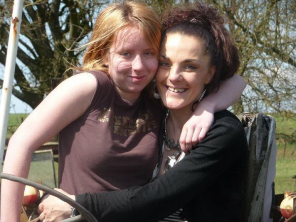 ma belle mère Fany et moi