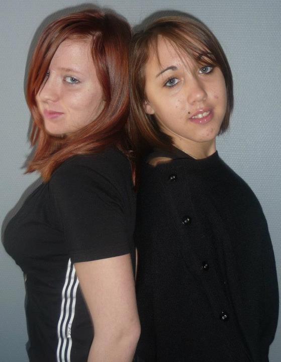 ma soeur Mélanie et moi
