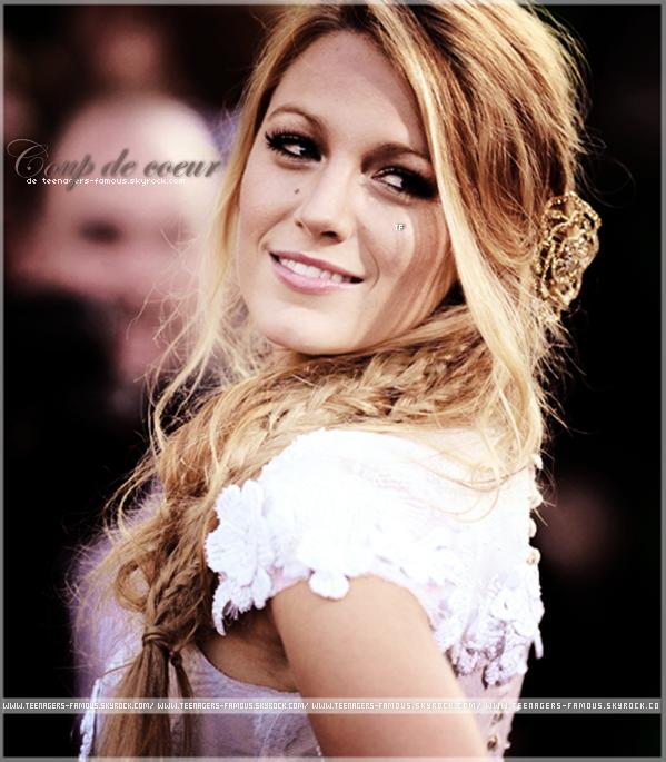 _ ♦ Blake Lively , une magnifique jeune fille avec une beauté si naturel ! _    (Pas super comme article. Je me rattrape au prochain , promis ♥)_____________________________________ #Article : Coup de coeur , Blake Lively.