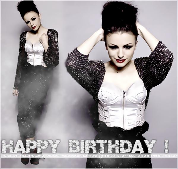 _ ♦ En attendant l'article enquête sur Vanessa Hudgens en préparation , souhaitons un énorme Happy Birthday à la belle Cher Lloyd qui fête ses 18 ans aujourd'hui ! _    #Article : Anniversaire ; Cher Lloyd.
