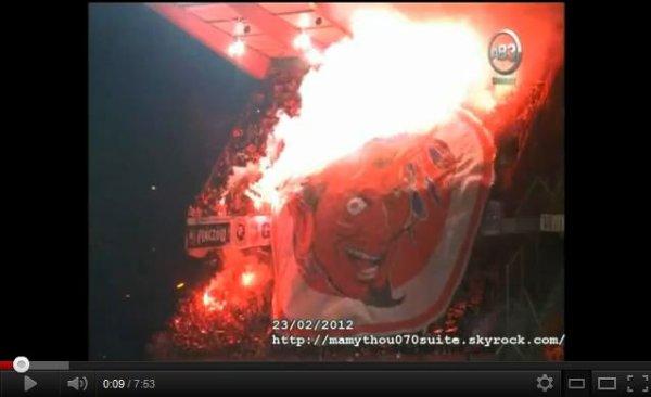Des incidents, provoqués par les supporters polonais, ont éclaté ,avant et  à l'issue du match