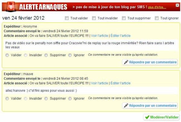 Hoooo la la  LA FRUSTRATION dans la CAPITALE !!!!!!!!!!!!