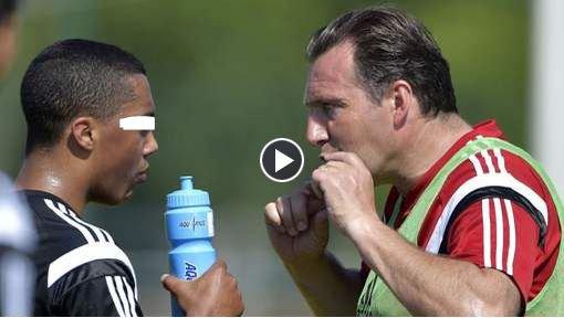 """Wilmots charge Tielemans: """"T'es pas à Anderlecht ici"""""""