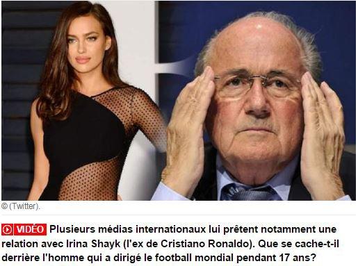 Blatter suite et pas FIN .....