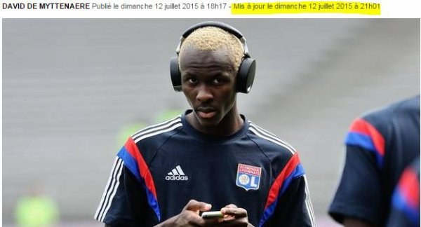 Standard: Yattara prioritaire, Vetokele et un attaquant de Monaco en backup