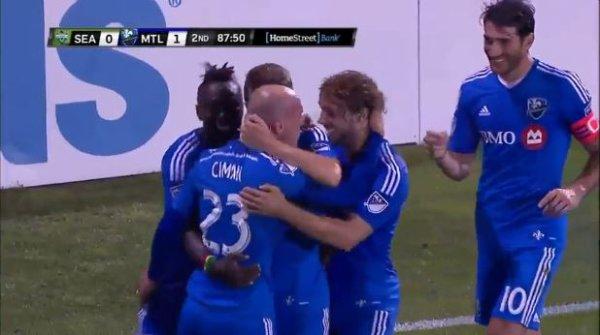 L'Impact de Montréal l'emporte 1-0 face aux Seattle Sounders grâce à Laurent Ciman (VIDÉO)