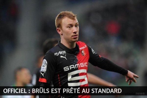 Officiel : Brüls est prêté au Standard