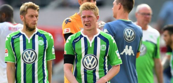 Le directeur sportif de Wolfsburg fait le point sur la situation de De Bruyne