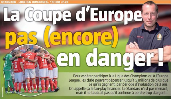 COUPE d'EUROPE
