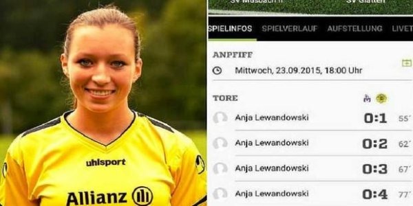 4 buts en 22 minutes: après Robert, voici Anja Lewandowski!