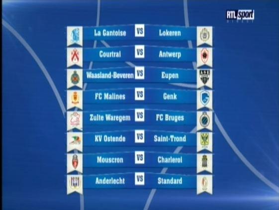 Tirage 1/16eme finale (Matches du 28 au 30 novembre)
