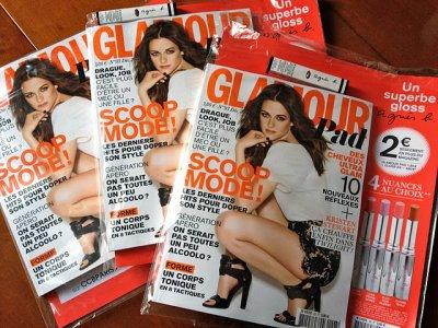 Article glamour pad numéro 93 sur Kristen introduction