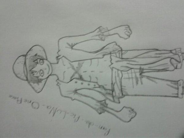 Dessin de Luffy ! [n°1]