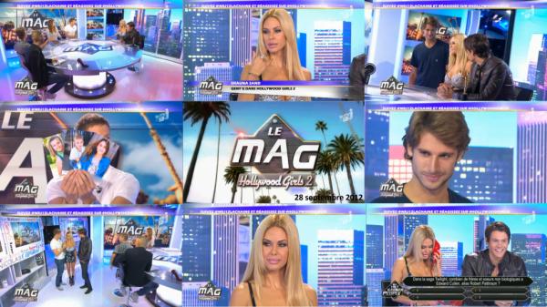 Shauna dans l'émission Hollywood Girls 2 : Le Mag