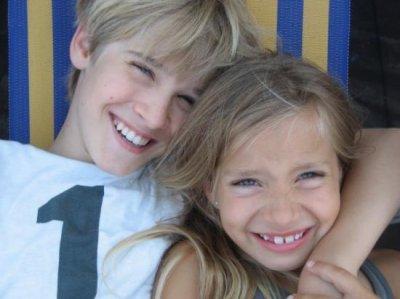 hugo et sa petite soeur