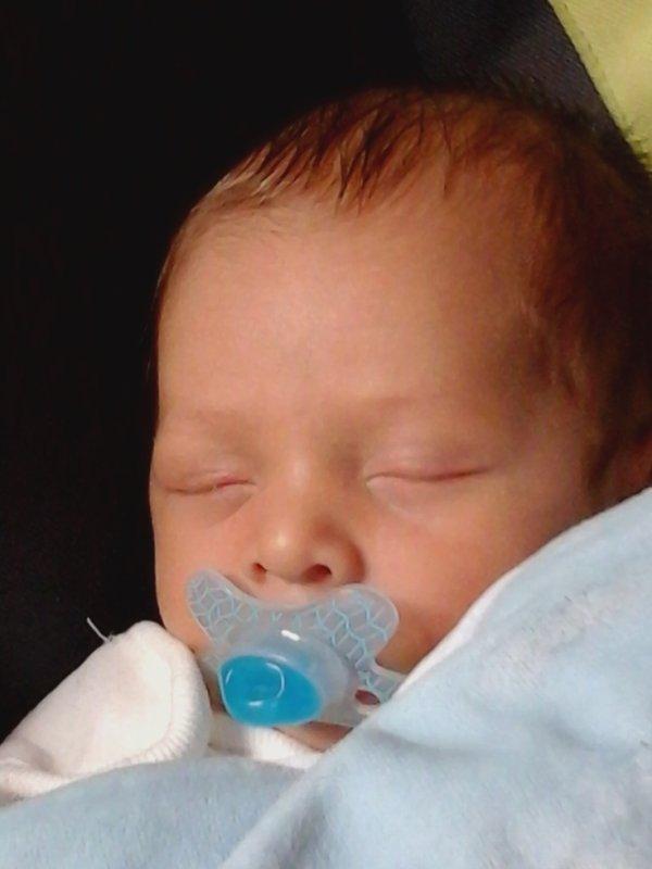 mon deuxième petit fils ezekiel