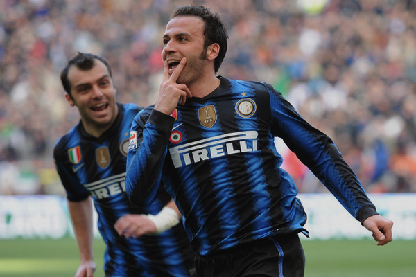 Les Buteurs de l'Inter en Serie A
