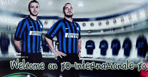 Bienvenue sur xO-Internazionale-xO , ta source sur l'Inter Milan