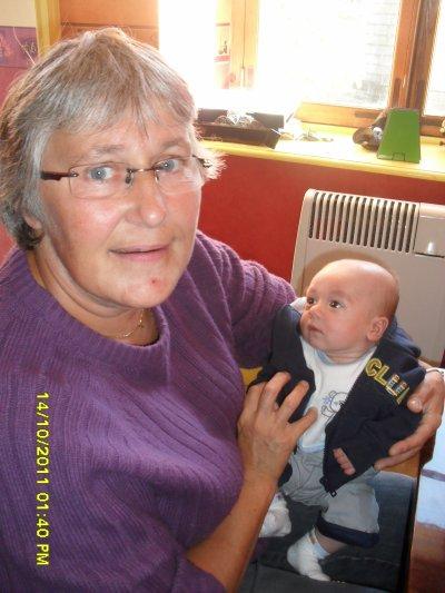timéon et sa mamie