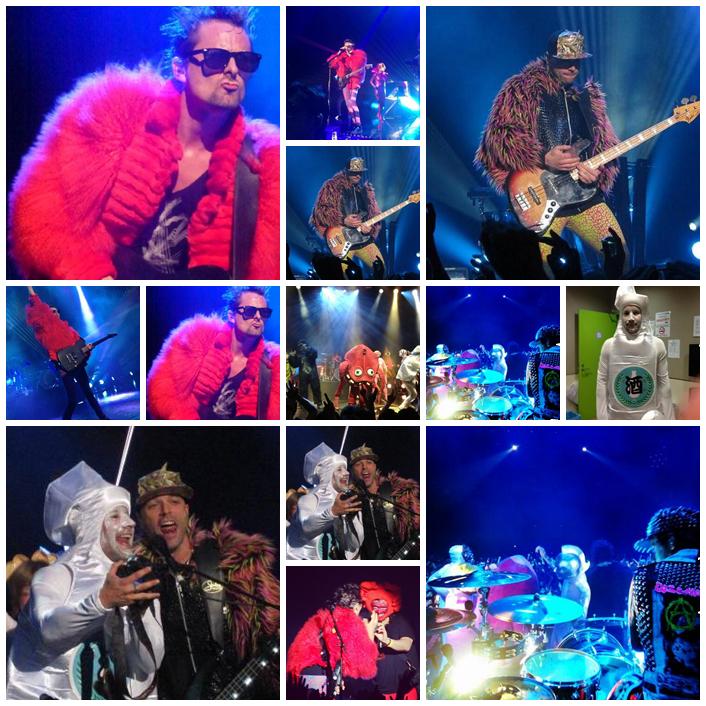 Muse et leur concert à Tokyo